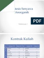 1. Termodinamika Dan Kinetika Anorganik 2