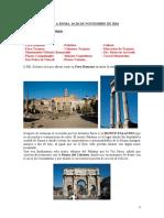 roma-itinerario 3 días