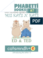 Alphabetti Book 7 - Ed and Ted EASIER