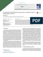 A Comparative Study of Random Speckle Pattern Simulation Models in Digital Image Correlation 2015 Optik International Journal for Light and Electron O