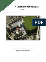 project 1 bouwplan sportveld
