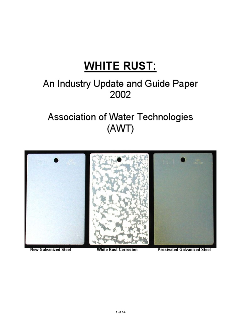 White Rust 2002 | Galvanization | Rust