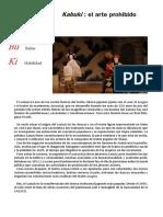 Dossier Kabuki