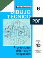 Dibujo Técnico 6 Proyecciones Diedricas y Ortogonales SENA