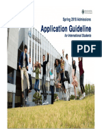 Application Guideline for Int'l Applicants_Spring 2018