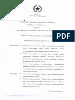 Peraturan Presiden No 185 Tahun 2014 tentang Percepatan Air Minum dan Sanitasi