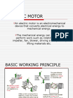 Electrical Motor Ppt