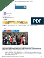 Mugabe_ a Propósito de Las Panaderías; Por Luis Vicente León « Prodavinci