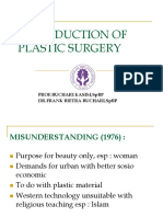 K1&K2 Introduction of Plastic Surgery (Bedah Plastik)