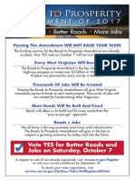 RTPA Double Sided Flyer