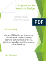 Current Approaches to Materials Design