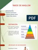 Pirámide de Maslow(1)