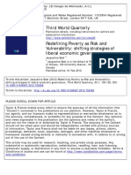 Poverty Risk Vulnerability