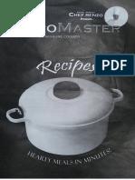 Instrucciones y Recetas MicroMaster