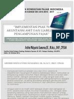 Implementasi Psak 70 - Materi Ppl Ikpi Pengda Dki 22 Oktober 2016