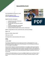 Addarsh App Guidelines