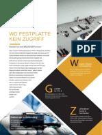 Datenrettung WD Festplatte