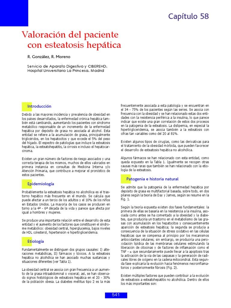 esteatose hepatica terapia nutricional pdf