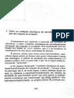 Sobre as condições ideológicas de reprodução/transformação das relações de produção