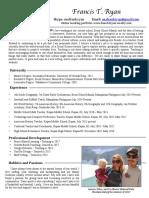 resume frank ryan pdf