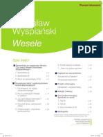 Opracowanie Lektur Stanislaw Wyspianski Wesele Nowa Era Sprawdzian