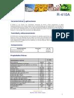 Ficha Tecnica R410A