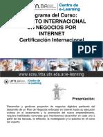 Programa Experto Internacional Negocios x Internet 2015