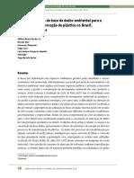 Desenvolvimento de Base de Dados Ambiental Para a Cadeia de Transformação de Plástico No Brasil (2017)