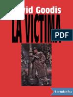 La Victima - David Goodis