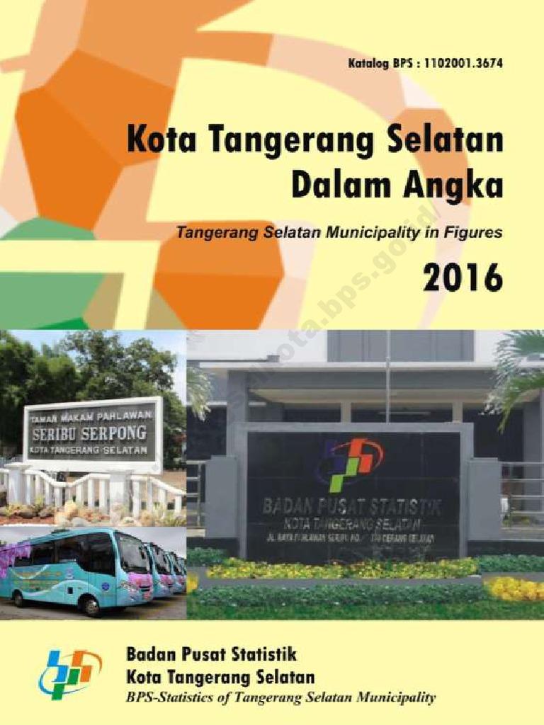 Kota Tangerang Selatan Dalam Angka 2016 dbbcb00fc7