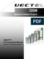 Quectel GSM FTP at Commands Manual V1.4