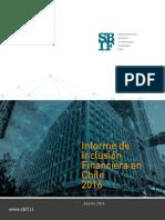 Informe de Inclusión Financiera en Chile 2016