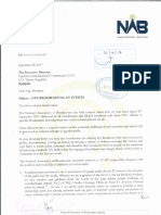 National Association of Broadcasters letter to UCC