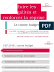Le contre-budget pour 2018 présenté par le groupe Nouvelle Gauche