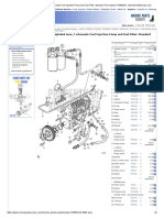 Volvo Penta Exploded View _ Schematic Fuel Injection Pump and Fuel Filter. Standard Fuel System TD640VE - MarinePartsEurope