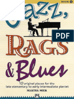 Martha Mier - Jazz, Rags and Blues - Book 1