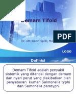 Diagnosis Dan Penatalaksanaan Demam Tiphoid