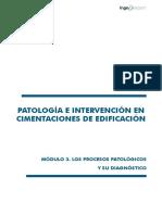 Los Procesos Patológicos y su Diagnóstico en Cimentaciones