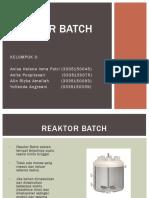 Reaktor Batch