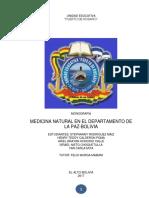 Medicina en Bolivia BIO1