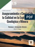 Curso de QAQC- Exploracion Geologica