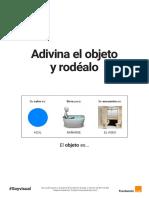 Adivina El Objeto y Rodéalo 2