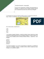 Revisão de Geometria – Recuperação