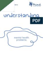 Understanding Mental Health Problems 2016