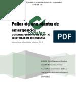 Fallas en Generadores Electricoscx