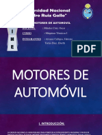 Motores de Automovil - Introduccion