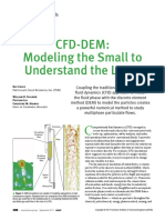 CFD-DeM - Modelling the Small - CEP - 20170938