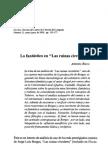 LO FANTÁSTICO EN LAS RUINAS CIRCULARES