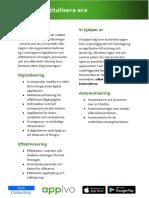 digitalisera broschyr