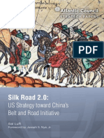 US Strategy toward China's Belt and Road Initiative